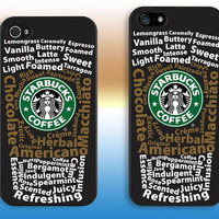 Starbucks---iphone 4 case iphone 4S case iphone 5 case iphone 5c case iphone 5s case Hard plastic iphone cover iphone case