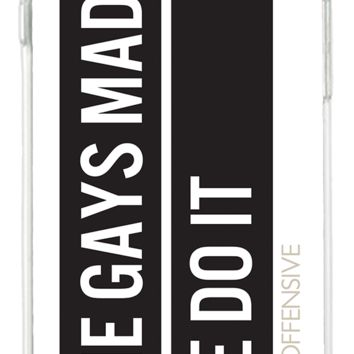 Gay Agenda iPhone Case
