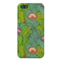 Arizona Cactus Pattern Apple iPhone 5 Cover