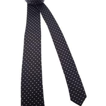 Dolce & Gabbana patterned silk tie