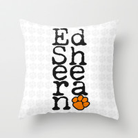 Vert Ed Throw Pillow by dan ron eli
