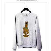 Scooby doo Sweater ready for Black, Red and Gray Color