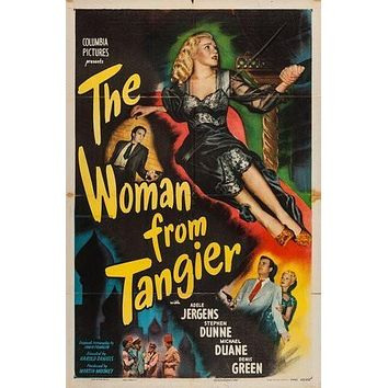 Woman From Tangier Movie Poster 24Inx36In Poster 24x36