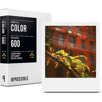 Impossible Project Color Film for Polaroid 600 Type Cameras and Impossible Instant Lab