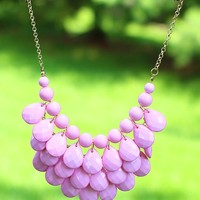 Raindance Necklace in Light Pink