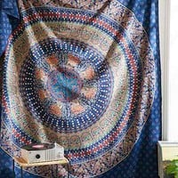 Magical Thinking Dylan Blu Medallion Tapestry - Urban Outfitters