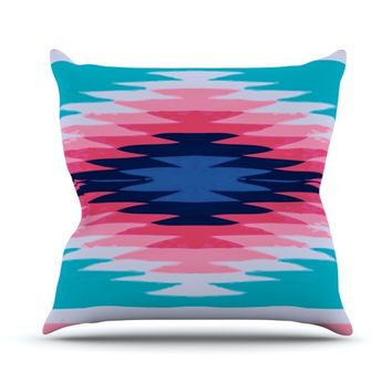 "Nika Martinez ""Surf Lovin II"" Throw Pillow"