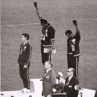 Black Power Salute 1968 Olympics Poster 24x36