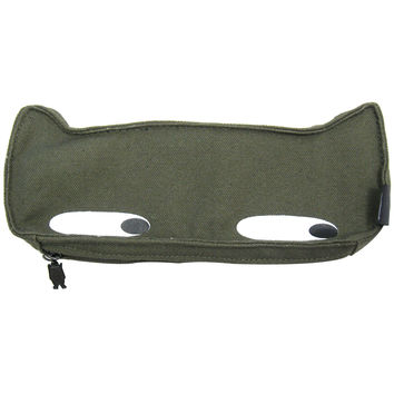 Pets@Work Kam Kam Cat Army Green Pouch/Pencil Case