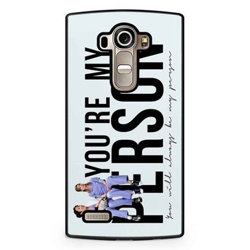 Grey S Anatomy - My Person LG G4 Case