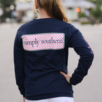 Simply Southern Long Sleeve Logo Tee
