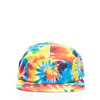Tie-Dye Five-Panel Hat