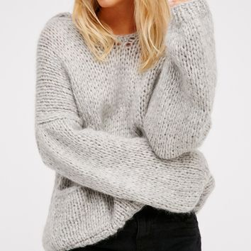 Free People Wimbledon Knitted Sweater