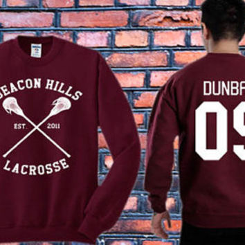 Stiles Stilinski sweater Teen Wolf,Liam Dunbar 09 Crewneck Sweater   Available Size S,M,L,XL,XXL color black and white