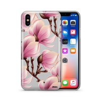 Magnolia - Clear TPU Case Cover