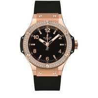 Hublot Big Bang 38mm Red Gold Diamond Watch | Harrods.com