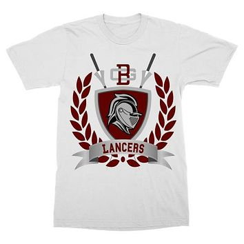 Bell Gardens Lancers Shield T-Shirt