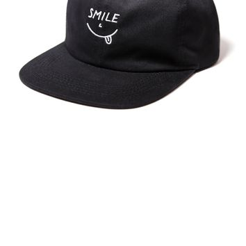 Smile Eyes Unstructured 6-Panel Hat