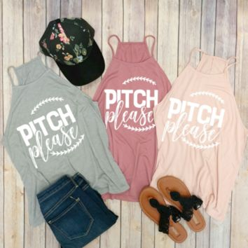 Pitch Please Tank Top