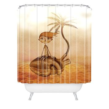 Jose Luis Guerrero Wreck Shower Curtain
