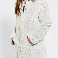 Urban Outfitters - Numph Anouk Snow Bunny Coat