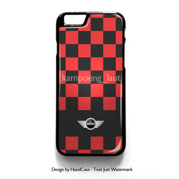 Mini Cooper Black Racing Stripes for iPhone 4 4S 5 5S 5C 6 6 Plus , iPod Touch 4 5  , Samsung Galaxy S3 S4 S5 Note 3 Note 4 , and HTC One X M7 M8 Case Cover