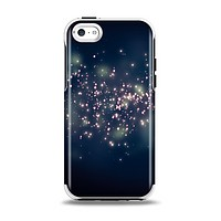 The Dark & Glowing Sparks Apple iPhone 5c Otterbox Symmetry Case Skin Set