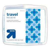 Travel First Aid Kit - 70 pieces - up & up™
