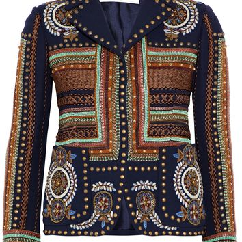 Embellished wool jacket | VALENTINO | Sale up to 70% off | THE OUTNET