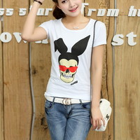 New Arrivals : round neck short sleeve T-shirt ghl5025