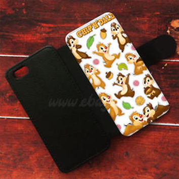 Chip N Dale Wallet iPhone cases Disney Classic Samsung Wallet Leather Phone Case