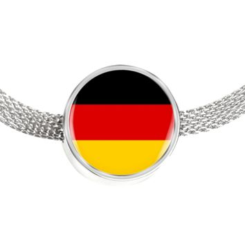German Pride - Luxury Charm Bracelet