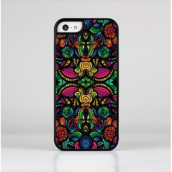 The Neon Colored Vector Seamless Pattern Skin-Sert Case for the Apple iPhone 5c