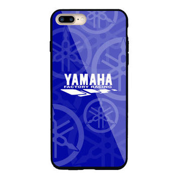 Best Yamaha.00K Factory Racing Logo Hard Plastic Case For iPhone 6 6s 7 8 Plus