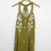 Sweet & Sultry Embroidered Dress