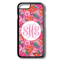 Red Pink Floral iPhone 5S 5C 6/6S Case Custom Cover