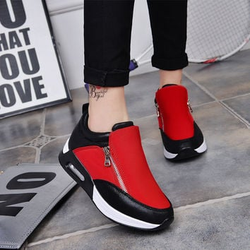 2016explosion models female casual comfort shoes women shoes increased within the high-quality air-cushioned shoes zapatos mujer