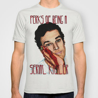 Dexter, The Perks of being a Serial Killer T-shirt by Lydia Dick | Society6