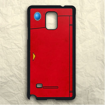 Red Pokedex Pokemon Samsung Galaxy Note 3 Case