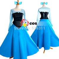 2015 halloween costume for kids The little Mermaid Princess Ariel Dress Cosplay costumes for girls