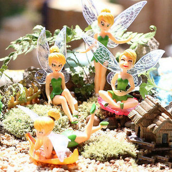 Flower Fairy Micro Landscape Gardening Fairy Mini Dollhouse Family Ornament HU