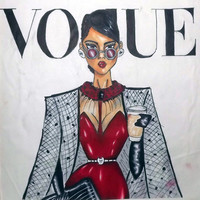 vogue  Art Print by LUSHELLE