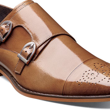 Trevor Cap Toe Monk Strap by Stacy Adams