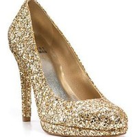 "Stuart Weitzman ""Swoon"" Glitter Evening Pumps - Bloomingdales.com"