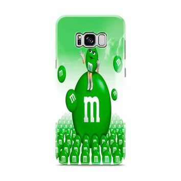 M&M's Green Candy Samsung Galaxy S8 | Galaxy S8 Plus case