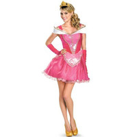 Disguise Womens Aurora Halloween Party Princess Costume