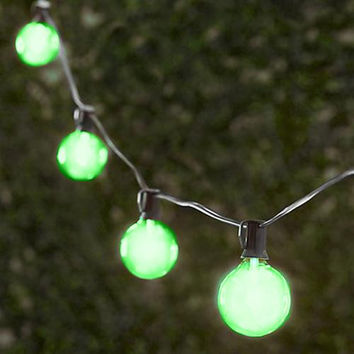 Green Party String Lights (25ft.-25 Sockets)