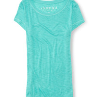 Core Scoop-Neck Tee