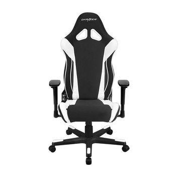 DXRacer OH/RW106/NW Black & White Racing Series Gaming Chair