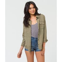 Billabong Women's New Deal Jacket Grass Roots